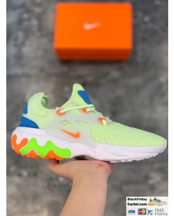 Nike Air Presto React Men's Running Shoes Green