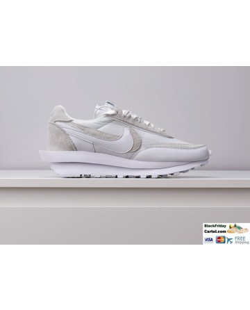 Nike Air Zoom Spiridon Cage 2 Stussy White Sneakers