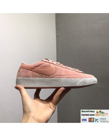 Nike Blazer Low PRM VNTG Retro Shoes Pink