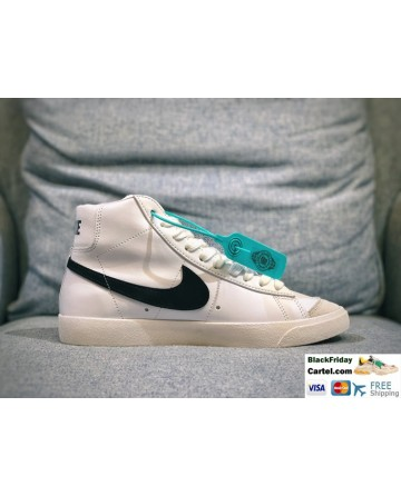 Nike Blazer Mid Vintage Lucid Green 1997 Sport Shoes Black Logo