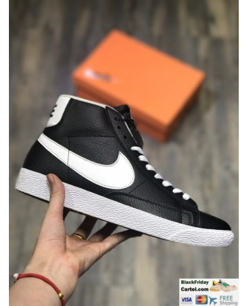 Nike Blazer Retro Black Shoes High