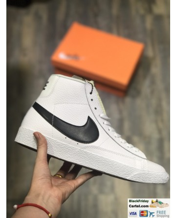 Nike Blazer Retro White Shoes High