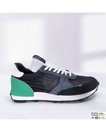 Nike Daybreak Low-top Sneakers Black & Green