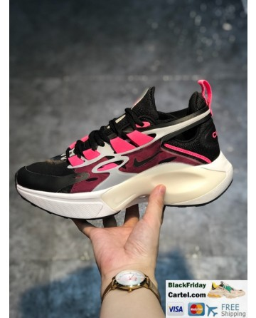 Nike DIMSIX Trainer Black & Pink Men's Running Shoes
