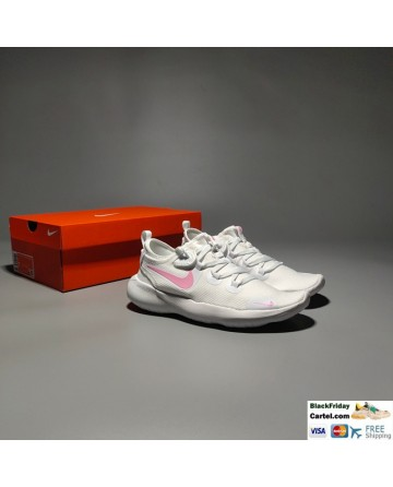 Nike Flex 2020 RN White & Pink Running Shoes