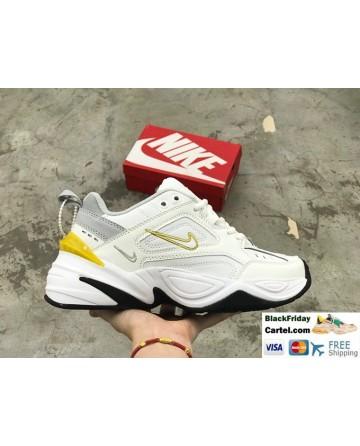 Nike M2K Tekno Men's Shoes White & Yellow