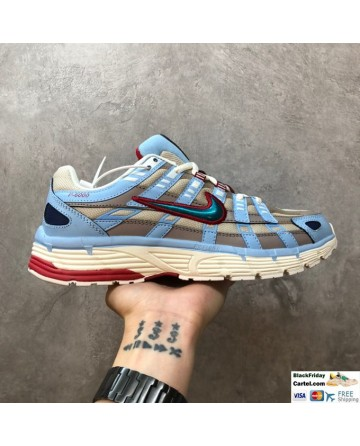 Nike P6000 Multicoloured Leather Running Shoes
