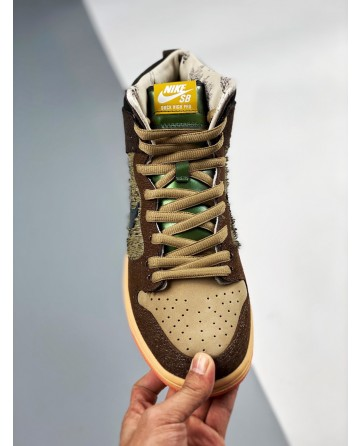 Nike SB Dunk High x Concepts 'Mallard' Men's Luxury Board shoes