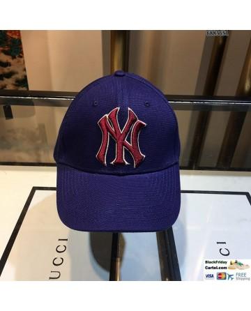 Unisex NY Blue Baseball Cap Adjustable