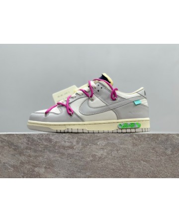 OFF-White x Futura x Nike SB Dunk LOW THE 50 Sneakers
