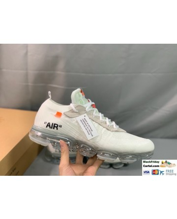 Off-White x Nike Air VaporMax White Running Shoes