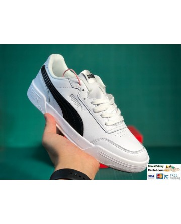 Puma Caracal White & Black Sneaker Shoes