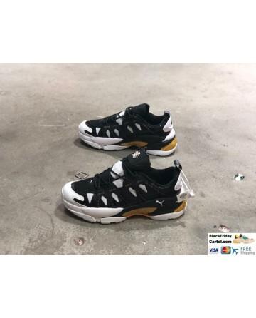 Puma LQD Cell Omega Manga Cult Black & White Sneaker Shoes