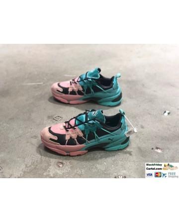 Puma LQD Cell Omega Manga Cult Pink & Blue Sneaker Shoes