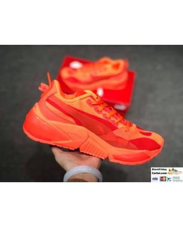 Puma Men's LQDCELL Optic Sheer Orange Shoes