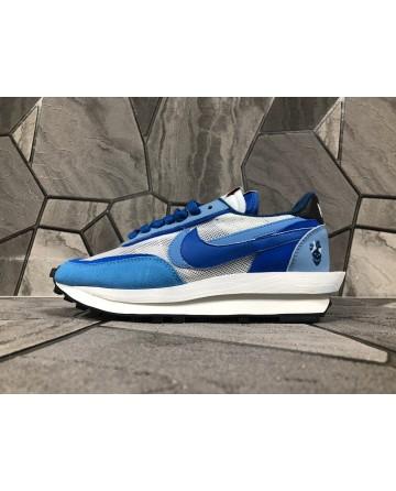 Sacai X Nike Ldv Waffle Daybreak Blue Sports Shoes EVA Soles