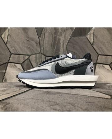 Sacai X Nike Ldv Waffle Daybreak EVA Soles Grey Sports Shoes