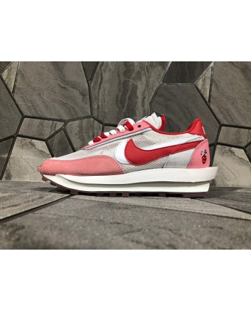 Sacai X Nike LDV Waffle Daybreak Sneaker Pink Mixed Color