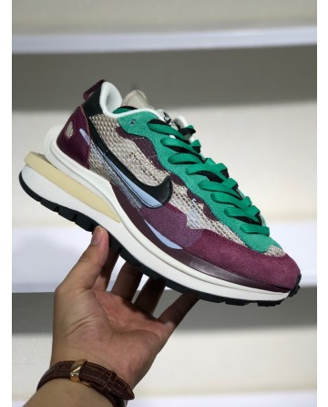 Sacai x Nike Pegasus Vaporfly Five-layer sole Sneakers New Colors