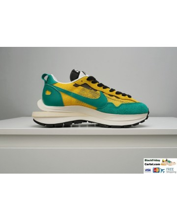Sacai x Nike Pegasus Vaporfly Sneakers Green and Yellow