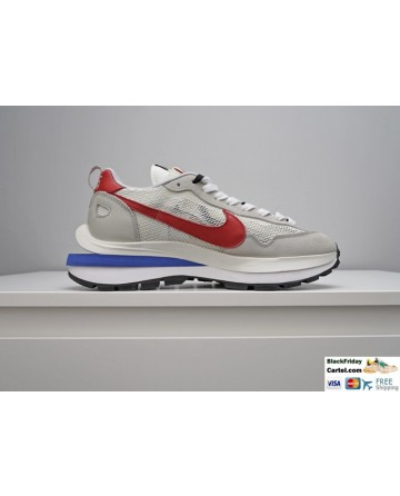 Sacai x Nike Pegasus Vaporfly Sneakers Grey Red Blue