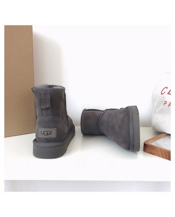 UGG Short Grey Snow Boots