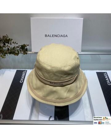 Vintage Balenciaga Fisherman Hat Beidge Cotton Bucket Cap