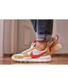 New 2018 Nike Craft Mars Yard TS Nasa 2.0 Khaki Upper Vamp & Red Logo Best Quality Shoes