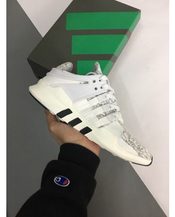 Replica Adidas ADV 91 Grey&White Running Shoes