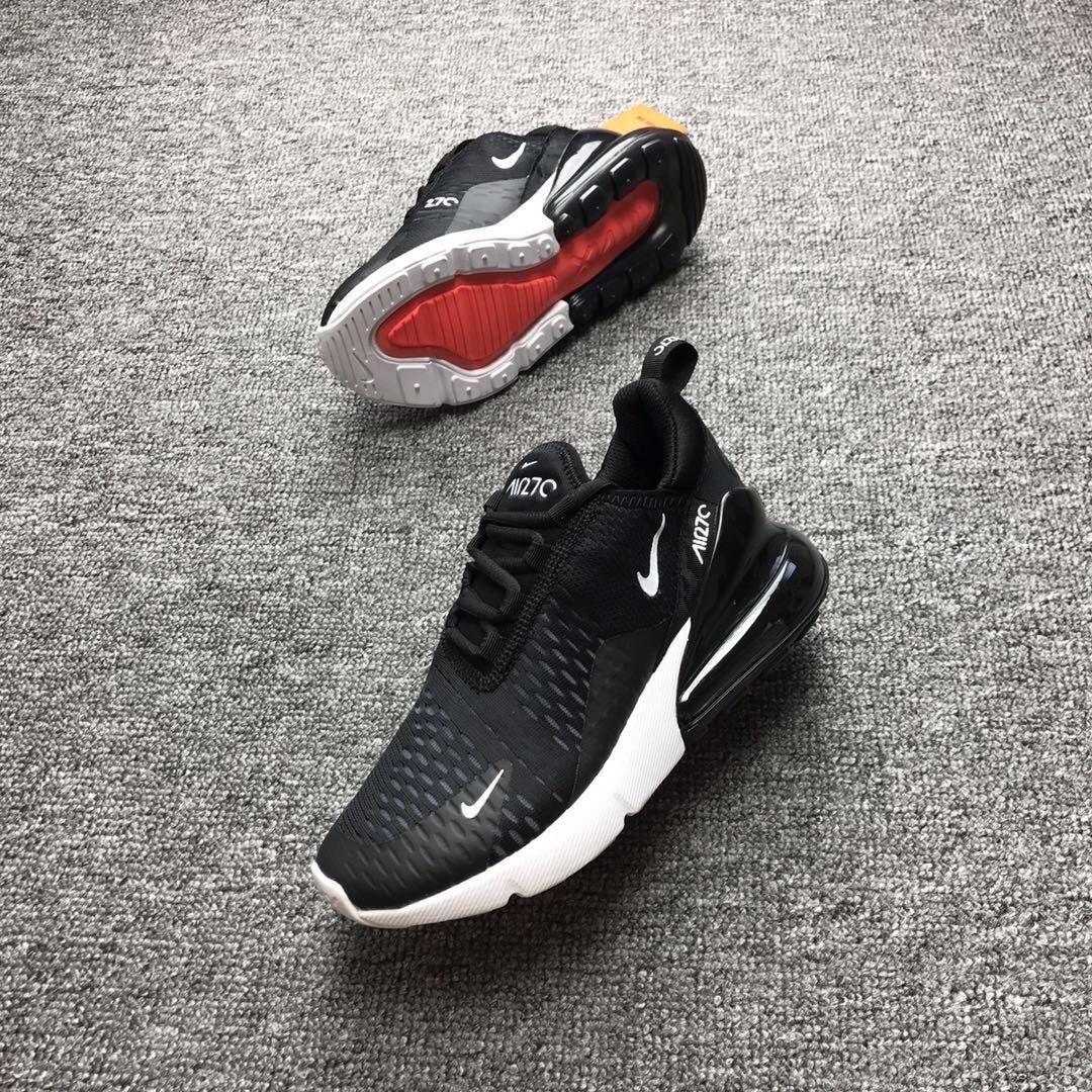 2019 New Nike Air Max 27C Black&White Shoes 1:1 Quality