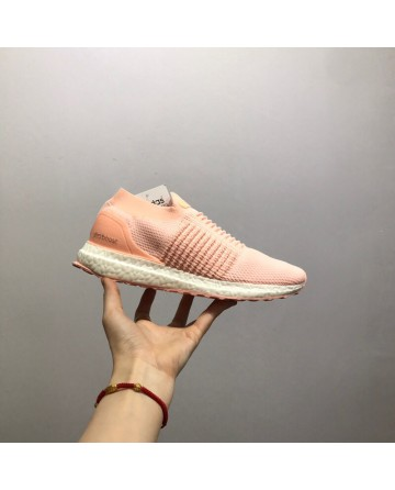 Adidas Ultra Boost Laceless Running Shoes Pink