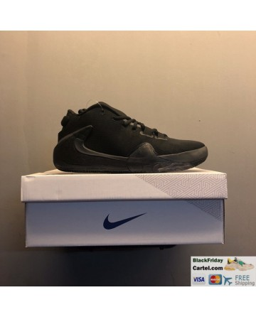Nike Zoom Freak 1 Men's Running Shoes All Black