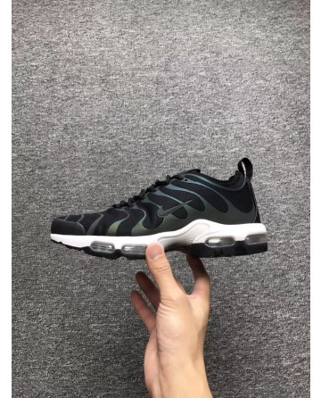 Nike TN 2Generation Black And Green Running Shoes