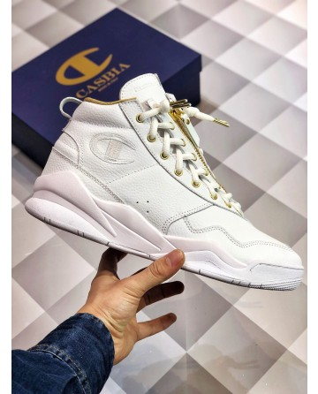 Replica Champion Low White Basketball Shoes For Sale